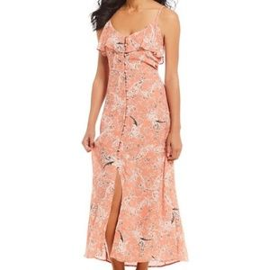 Sanctuary Isabella Button Down Maxi Dress. Sz M